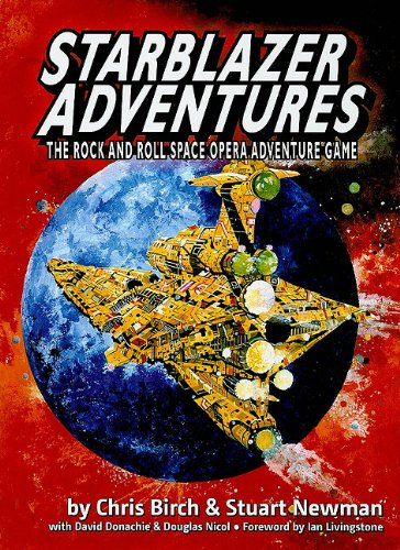 9780955542336: Starblazer Adventures: The Rock and Roll Space Opera Adventure Game