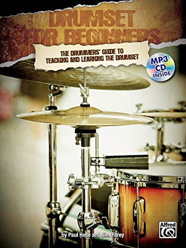 9780955544248: Drumset for Beginners: The Drummers' Guide to Teaching and Learning the Drumset, Book & MP3 CD