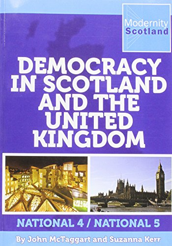9780955575068: Democracy in Scotland and the United Kingdom: National 4/National 5
