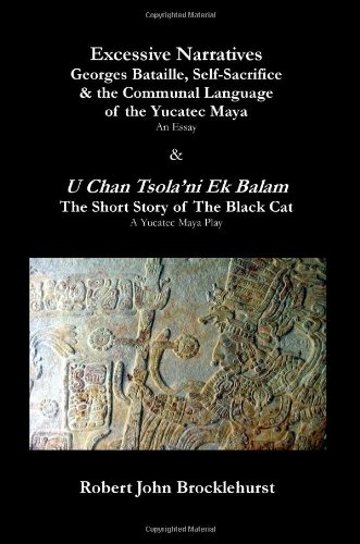 9780955625985: Excessive Narratives: Georges Bataille, Self-Sacrifice & the Communal Language of the Yucatec Maya & U Chan Tsola'ni Ek Balam (The Short Story of The Black Cat) (Axis)