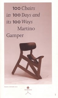 9780955709814: 100 Chairs in 100 Days in 100 Ways: Martino Gamper