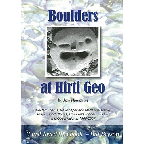 Boulders at Hirti Geo: Hewitson, Jim