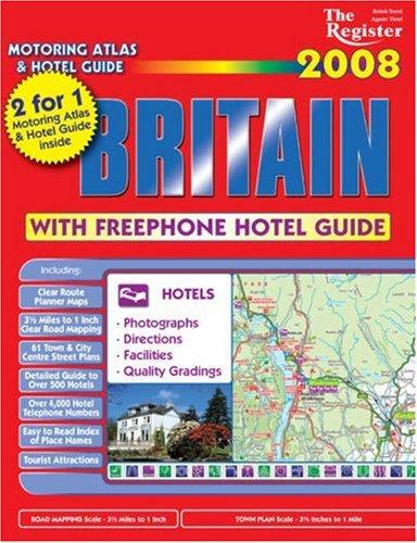 The Register Motoring Atlas and Hotel Guide: Owen, William