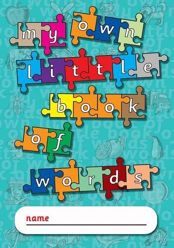 My Own Little Book of Words (Paperback): Glowworm Books Gifts