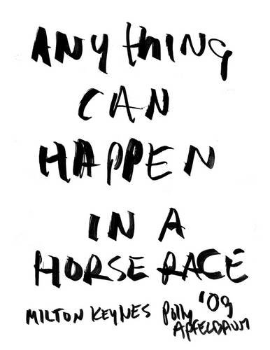 9780955761065: Polly Apfelbaum: Anything Can Happen in a Horse Race