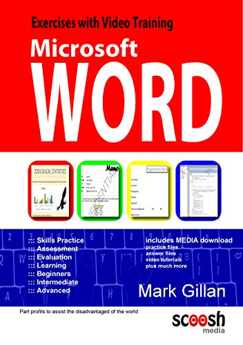 9780955777028: Microsoft Office Word: Word Exercises with Video Training