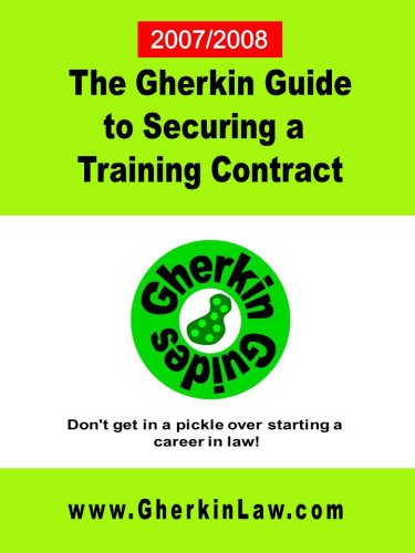 9780955780004: The Gherkin Guide to Securing a Training Contract