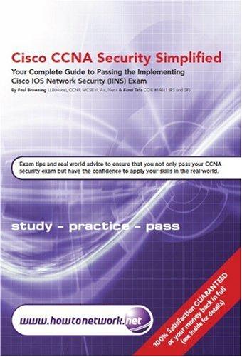 9780955781544: Cisco CCNA Security Simplified