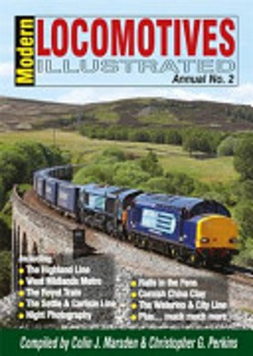 Modern Locomotives Illustrated Annual: No. 2 (0955788757) by Marsden, Colin; Perkins, Christopher
