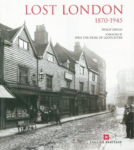 9780955794988: Lost London 1870-1945