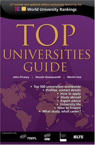 Top Universities Guide (0955815703) by Nunzio Quacquarelli; John O'Leary; Martin Ince