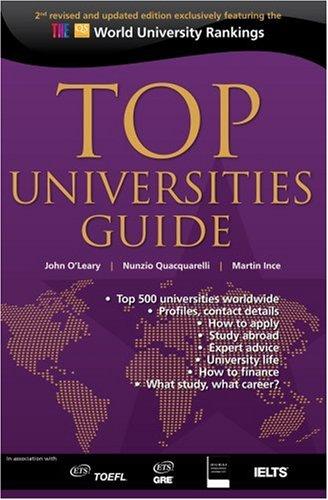 9780955815706: Top Universities Guide