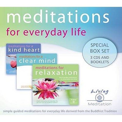 9780955866777: Meditations for Everyday Life (Audio 3 CDs): Special Box Set 3 CDs and Booklets
