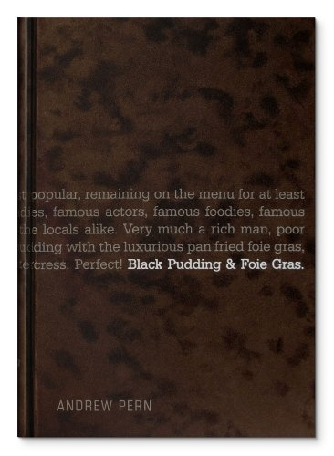 9780955893001: Black Pudding and Foie Gras: 1
