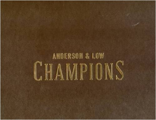 Champions by Anderson and Low: To Benefit the Elton John AIDS Foundation (Hardback): Jonathan ...