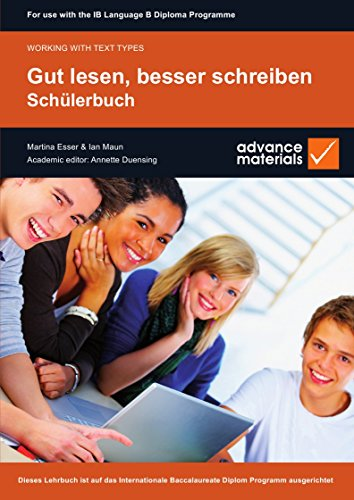 9780955926525: Gut Lesen, Besser Schreiben Student's Book (Working with Text Types)