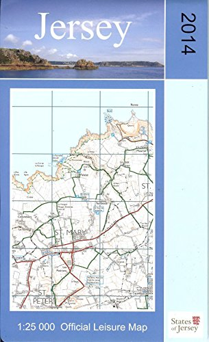 9780955934100: Jersey Official Leisure Map