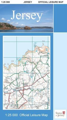 9780955934131: Jersey Official Leisure Map