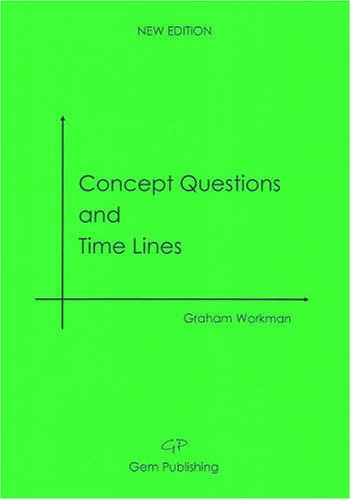 9780955946103: Concept Questions and Time Lines