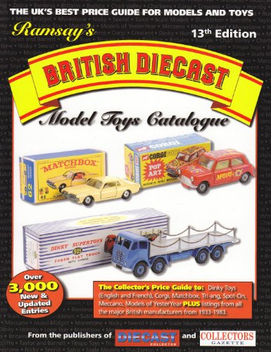 9780955962646: Ramsay's British Diecast Model Toys Catalogue (13th Edt)