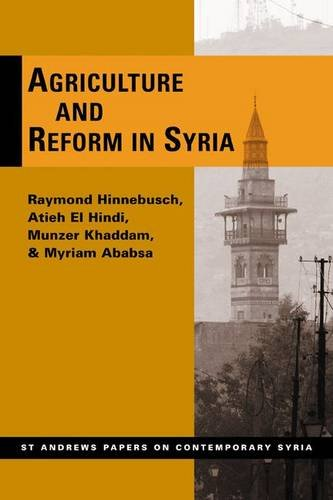 9780955968778: Agriculture and Reform in Syria (St. Andrews Papers on Contemporary Syria)