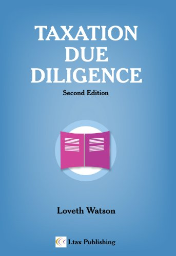 9780956019547: Taxation Due Diligence