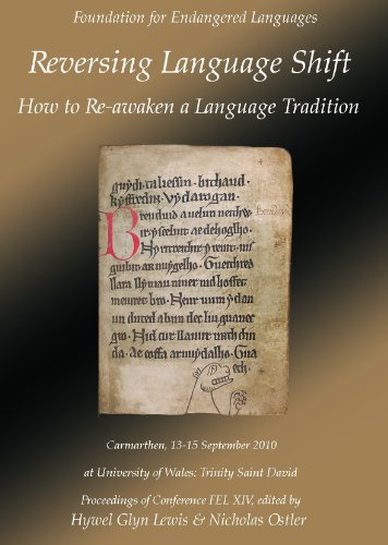 9780956021021: Reversing Language Shift: How to Re-awaken a Language Tradition: Proceedings of the Conference FEL Xiv, 13-15 September 2010, Carmarthen Wales ... Languages) (English and Welsh Edition)