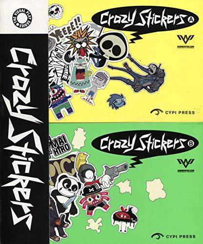 9780956045379: Crazy Stickers