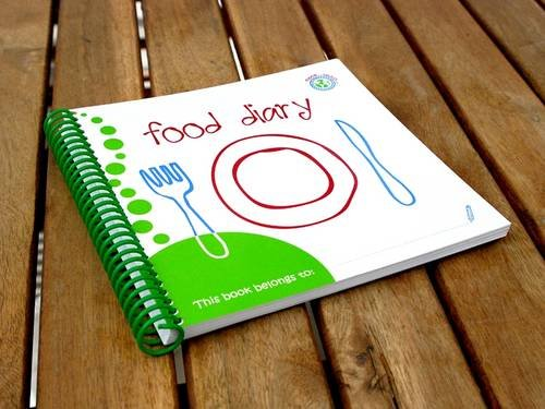 Wipe-able Food Diary (095608950X) by [???]