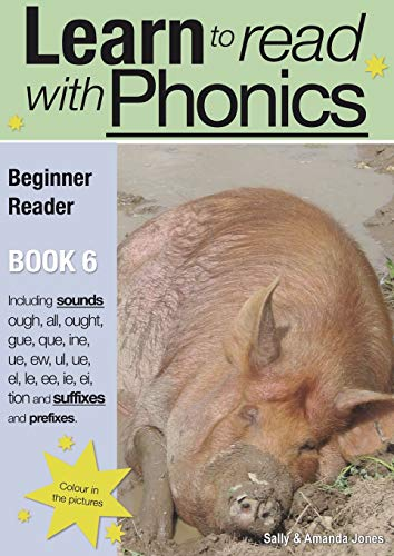 9780956115089: Learn to Read Rapidly with Phonics: Beginner Reader Book 6. (A fun, color in phonic reading scheme. Proven to teach children to read in just 8 books.)