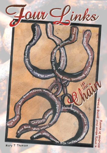 9780956136879: Four Links in the Chain: A Story About Four Young Friends Entwined in Slavery