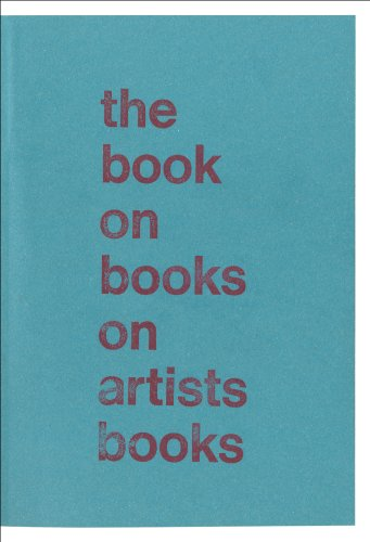9780956173881: The Book on Books on Artists Books