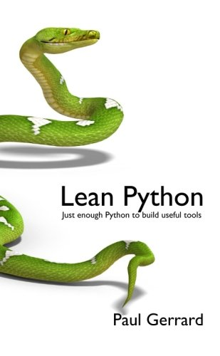 9780956196224: Lean Python