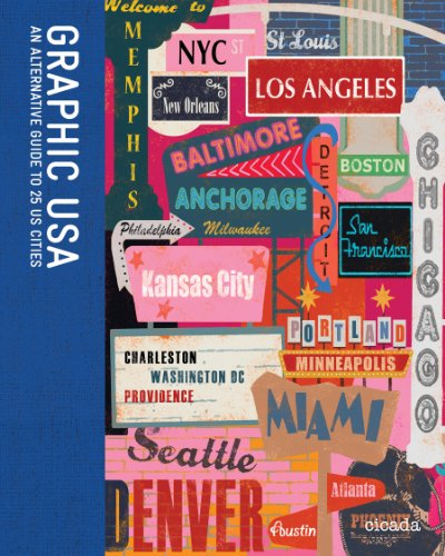 9780956205322: Graphic USA: An Alternative Guide to 25 US Cities
