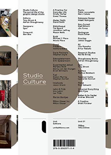 9780956207104: Studio Culture: The Secret Life of the Graphic Design Studio