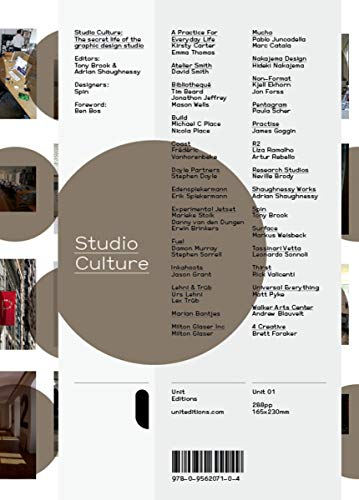 Stock image for Studio Culture: The Secret Life of a Graphic Design Studio (UNIT) for sale by GF Books, Inc.