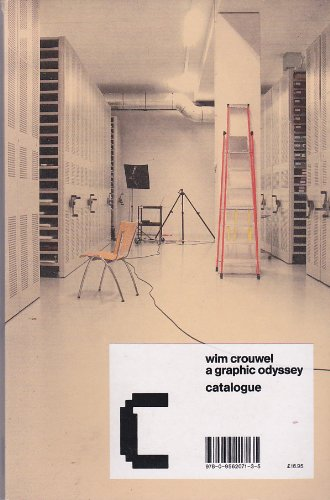 9780956207135: Wim Crouwel a graphic odyssey catalogue