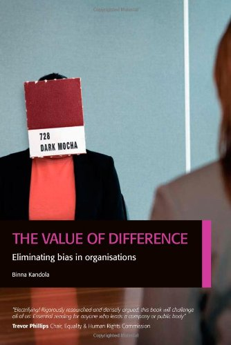 9780956231802: The Value of Difference: Eliminating Bias in Organisations