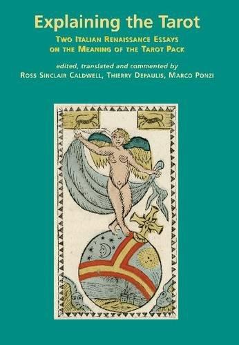 9780956237019: Explaining the Tarot: Two Italian Renaissance Essays on the Meaning of the Tarot Pack