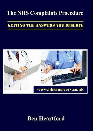 9780956242518: The NHS Complaints Procedure: Getting the Answers You Deserve