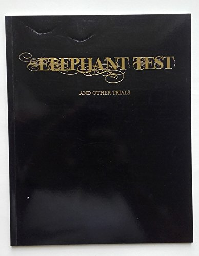 9780956342805: Elephant Test and Other Trials