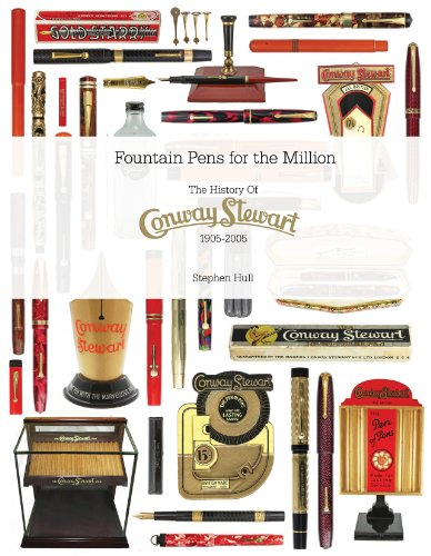 9780956344410: Fountain Pens for the Million; the History of Conway Stewart: 1905-2005 (English Pen Manufacturers and Their Products)