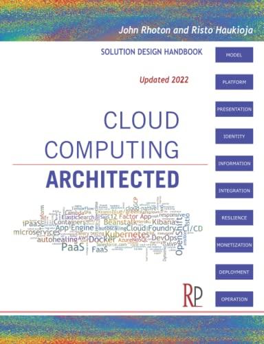 9780956355614: Cloud Computing Architected: Solution Design Handbook