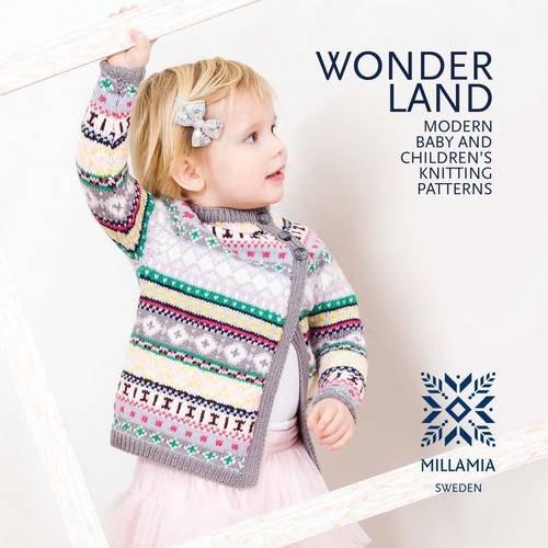 9780956365842 Wonderland Modern Baby And Childrens Knitting