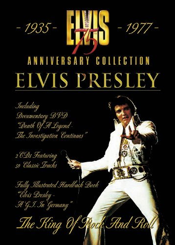 9780956420206: Elvis Presley 75th Anniversary Collection: The King Of Rock And Roll (2CD + DVD + Book)