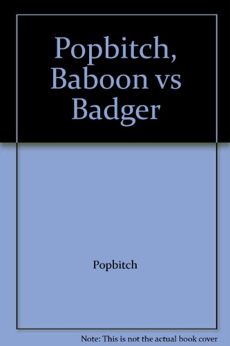 9780956429902: Popbitch, Baboon vs Badger