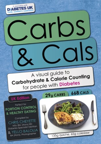 9780956443052: Carbs & Cals: A Visual Guide to Carbohydrate Counting & Calorie Counting for People with Diabetes