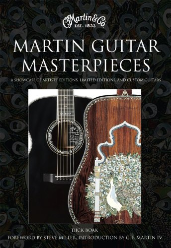9780956444882: Martin Guitar Masterpieces: A Showcase of Artists' Editions, Limited Editions and Custom Guitars