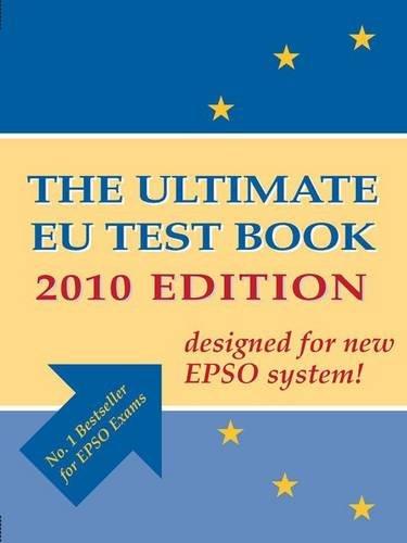 9780956450807: The Ultimate EU Test Book 2010
