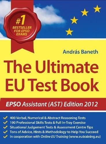 9780956450883: The Ultimate EU Test Book 2012